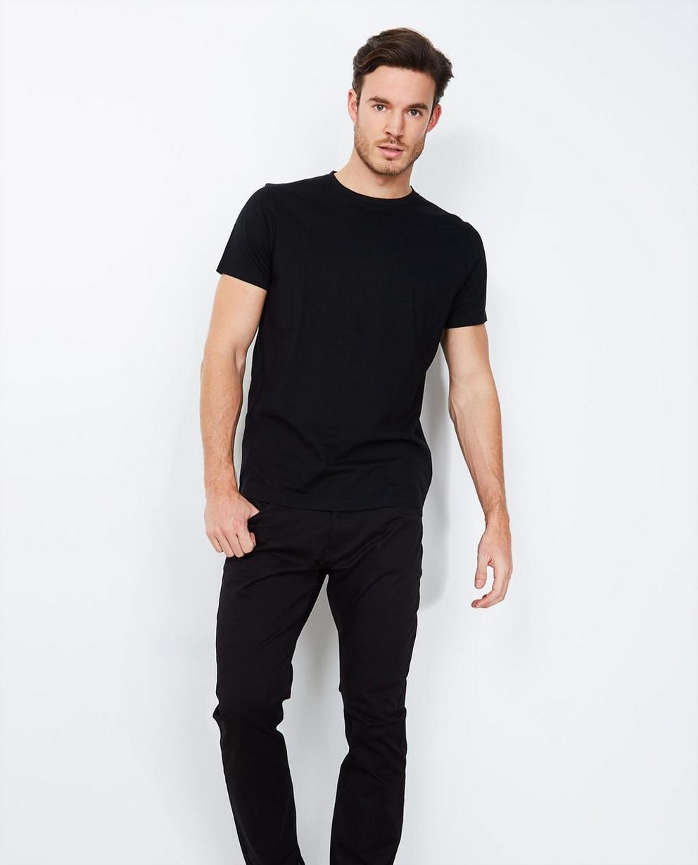 Pantalons - navy - Basic slim fit broek